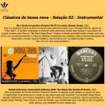 Sugestões p/Sincronização 30 - Bossa nova instrumental