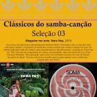 Sugestões p/Sincronização 65 - Clássicos do samba-canção